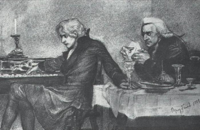 Wolfgang Amadeus Mozart Antonio Salieri
