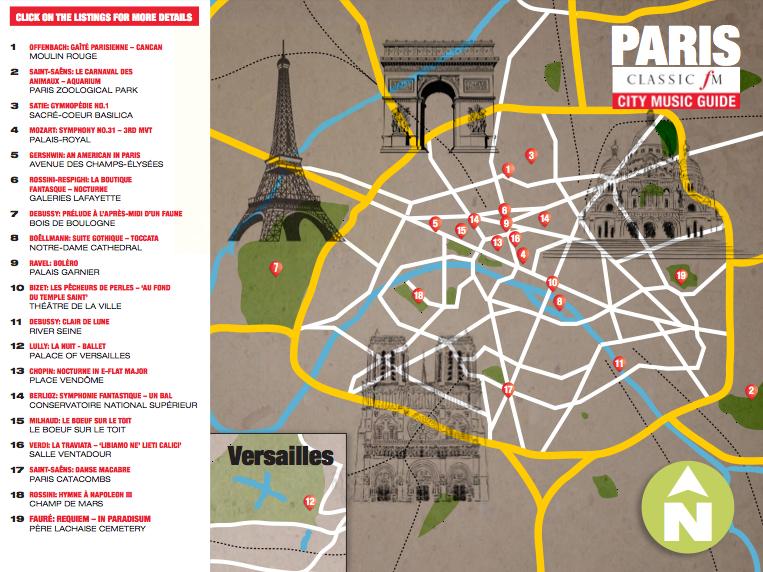 Paris classical guide