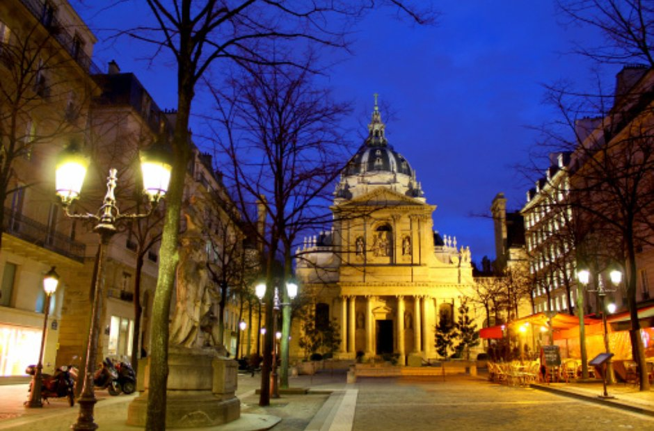 Sorbonne left bank Paris latin quarter La Boheme