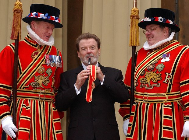 James Galway flautist knighthood yeoman Buckingham Palace