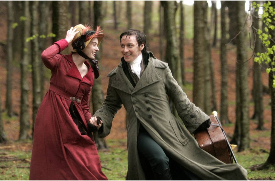 Becoming Jane Anne Hathaway James McAvoy Austen