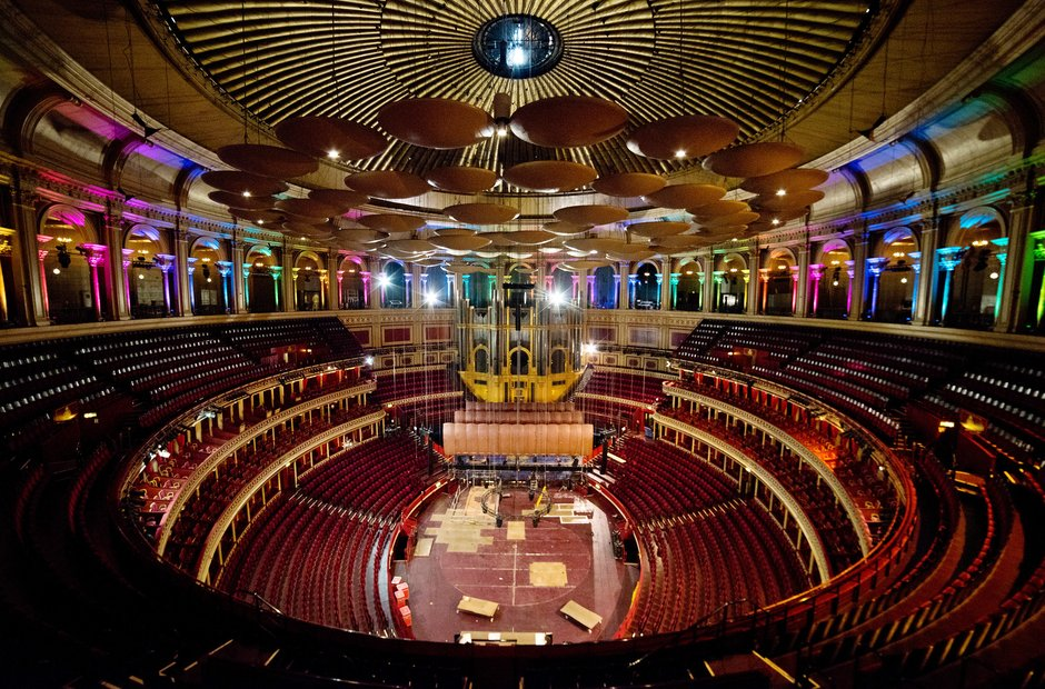 Behind the scenes at the Royal Albert Hall picture