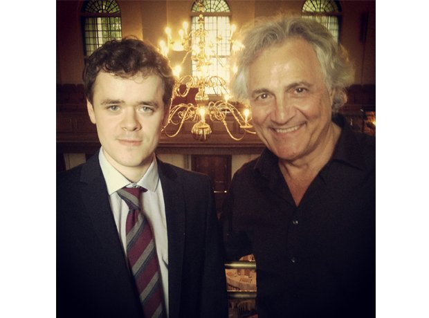 John Suchet and Benjamin Grosvenor