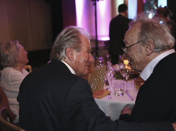 Sir Neville Marriner and Alfred Brendel