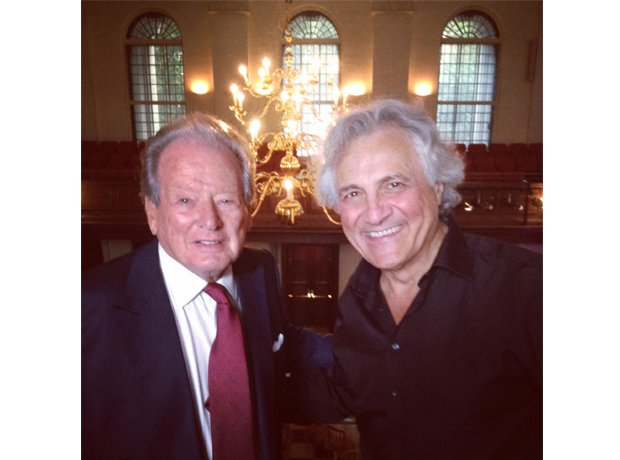 Sir Neville Marriner and John Suchet