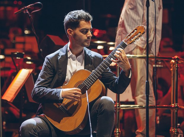 Classic FM live during rehearsals with Milos Karad