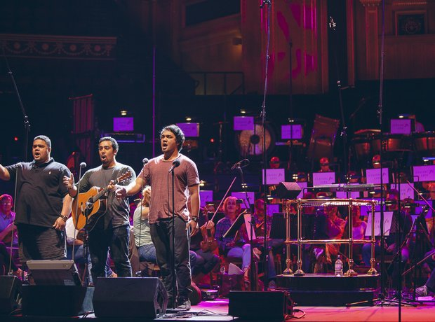 Classic FM live during rehearsals with O Sole Mio