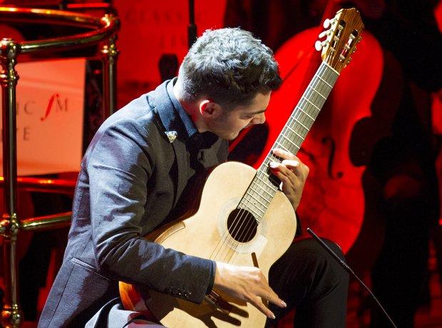 Milos Karadaglic at Classic FM Live 2014