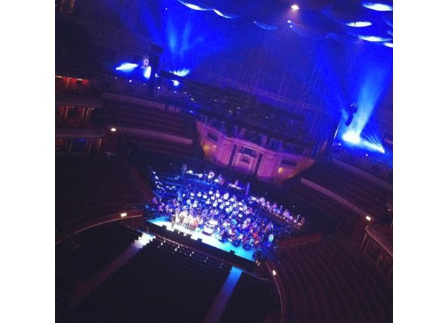 Behind the scenes at Classic FM Live