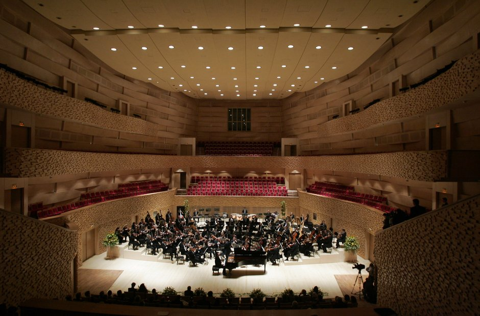 Mariinsky St Petersburg Russia orchestra concert hall
