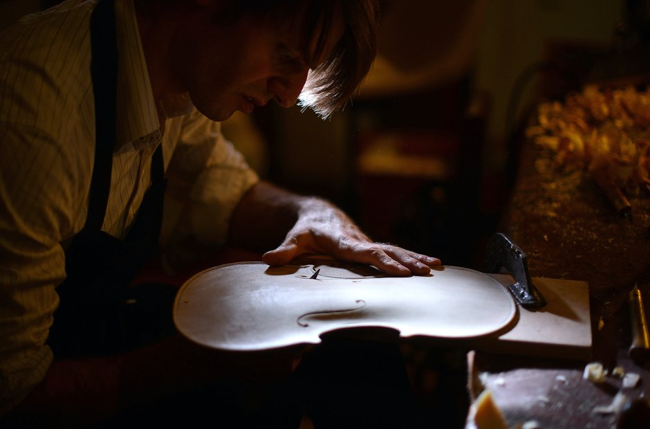 Violin Making - Getty Images