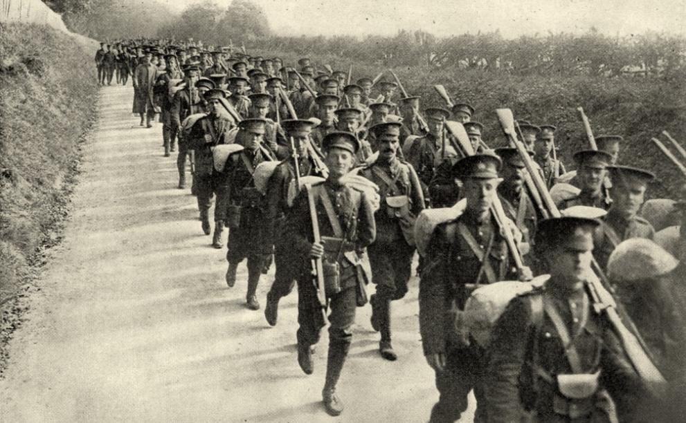 Canadian soldiers World War 1 Salisbury Plain