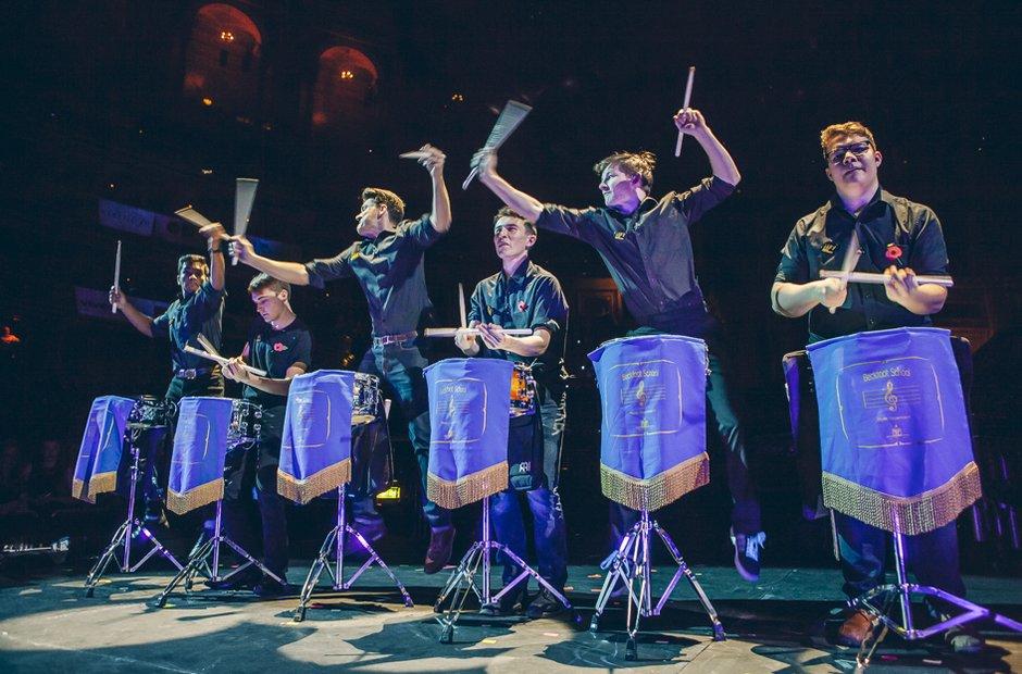 Beckfoot Drumline Schools Prom 2014