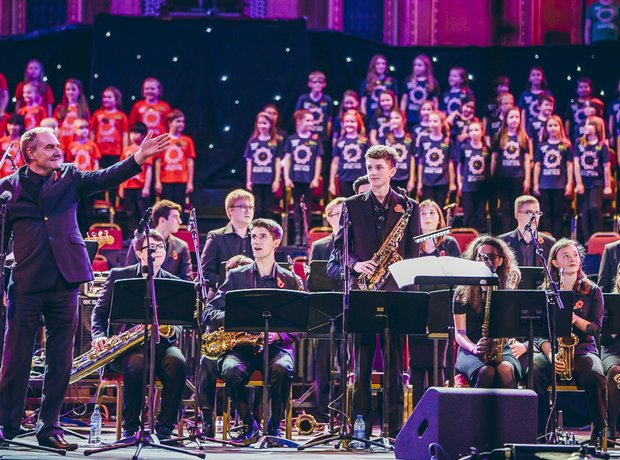 Greater Manchester Music Hub Massed Ensemble Perfo