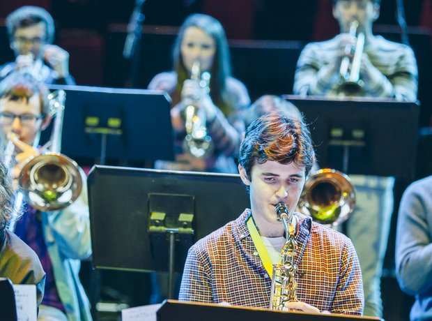 Northamptonshire School for Boys Big Band