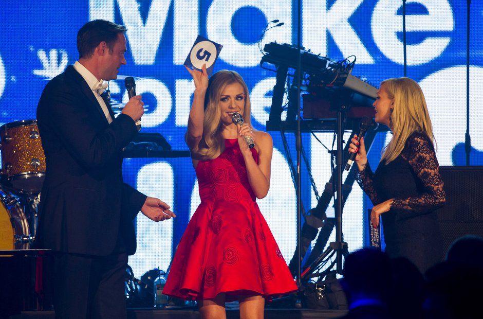 Katherine Jenkins at Global Make Some Noise Night