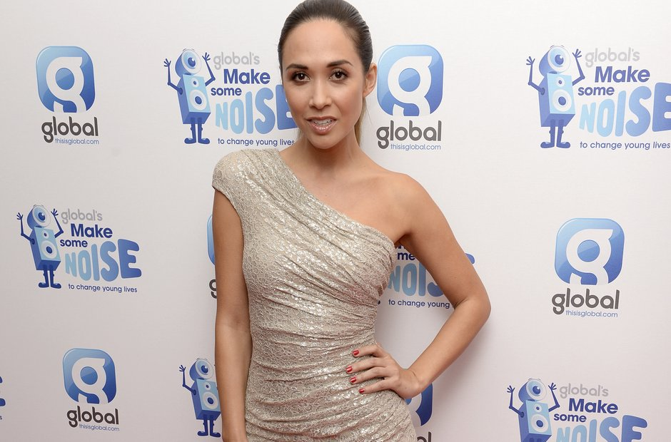 Myleene Klass Global Make Some Noise Evening 2014