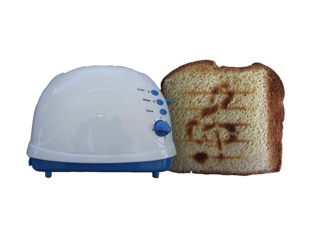 Musical toaster