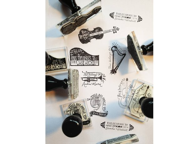 Gift Guide Classic FM Musical stamps