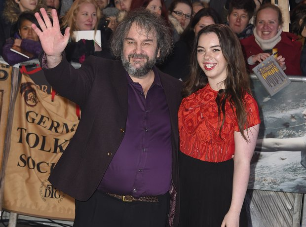 Peter Jackson at The Hobbit world premiere
