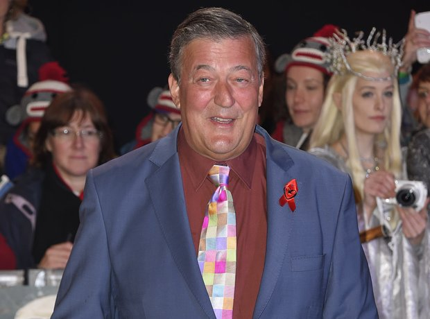 Stephen Fry The Hobbit world premiere