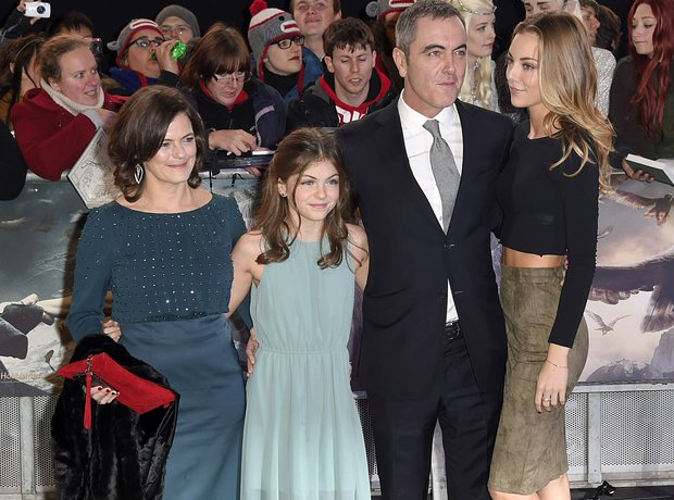 James Nesbitt The Hobbit world premiere