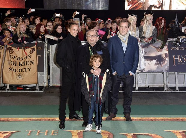 Sylvester McCoy at The Hobbit world premiere