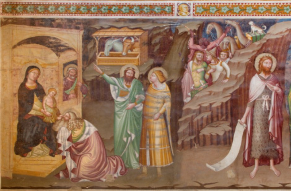 Nativity Adoration of the Magi