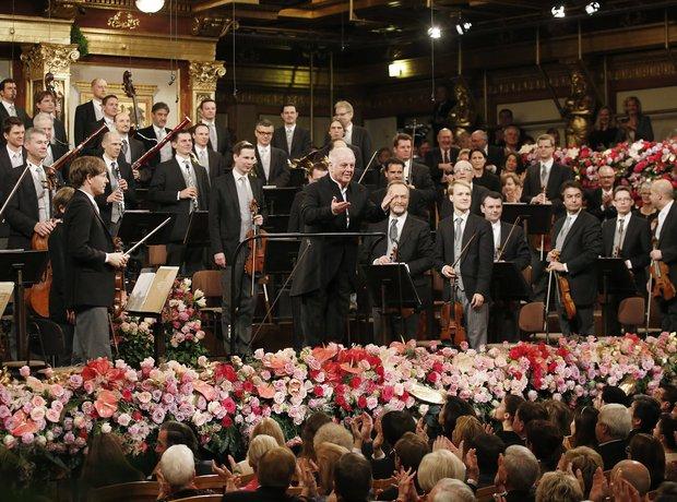 Daniel Barenboim at the Vienna New Year's Concert