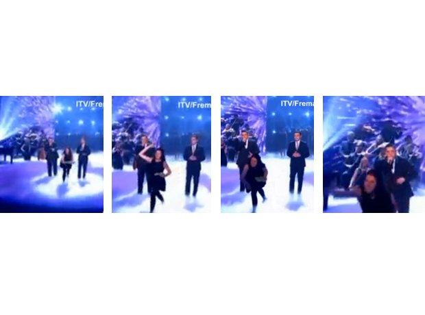 Simon Cowell egged on Britain's Got Talent