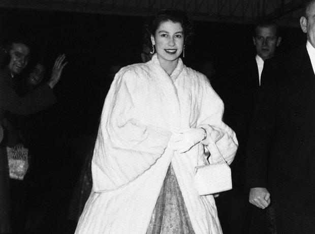 Queen Elizabeth II ermine