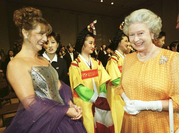 Lesley Garrett Queen Prince Philip Seoul