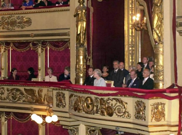 La Scala Milan Queen Prince Philip