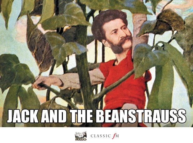 Jack and the Beanstalk and Johann Strauss II splic