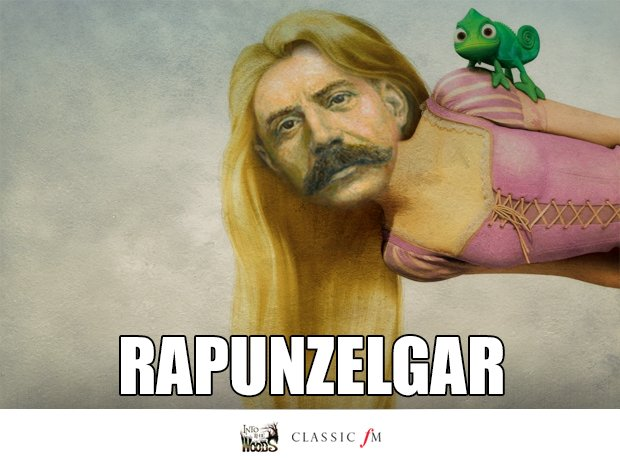 Rapunzel and Elgar splice