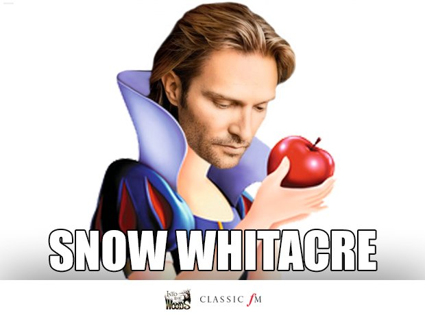 Snow White and Eric Whitacre splice
