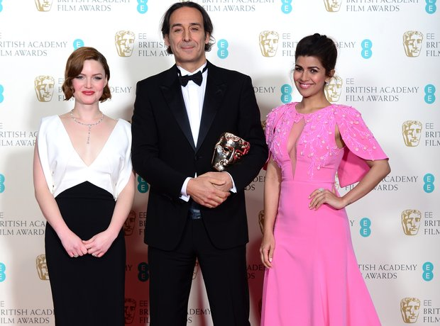 Alexandre Desplat, Nimrat Kaur and Holliday Grainger