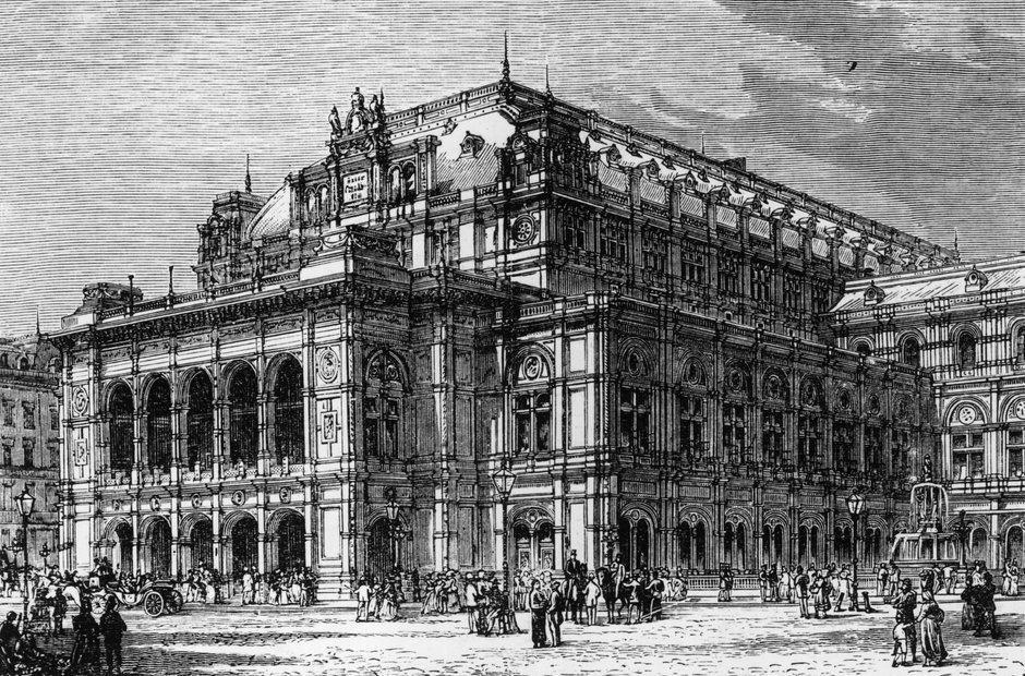 Original opera house drawings