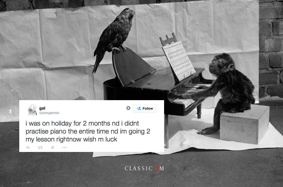 piano practise gallery