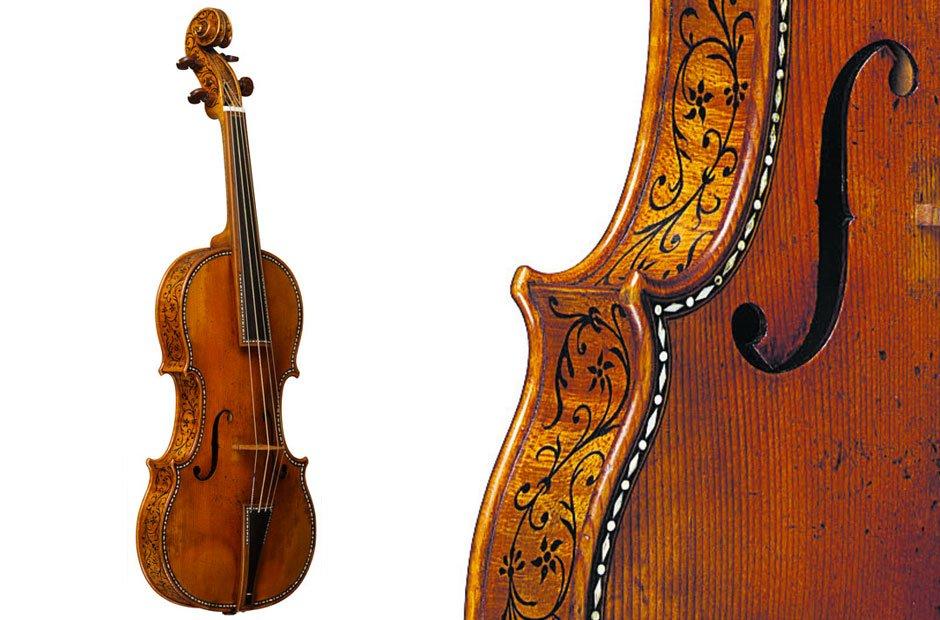 Cipriani Potter Stradivarius violin