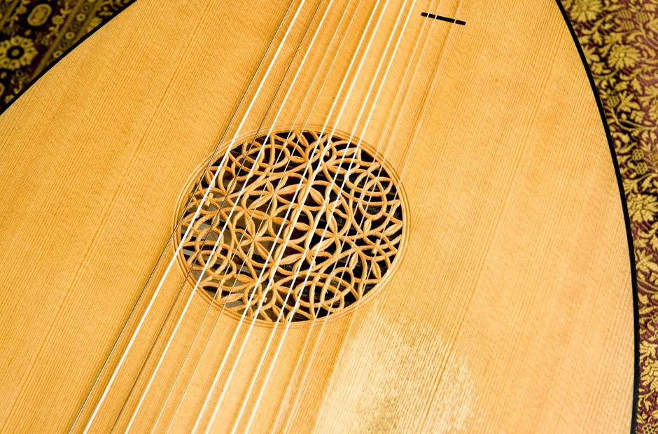 beautiful musical instruments lute