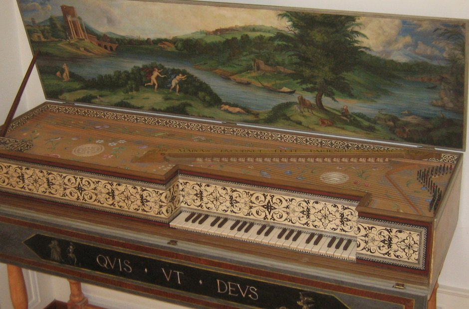 Muselaar clavecin clavichord