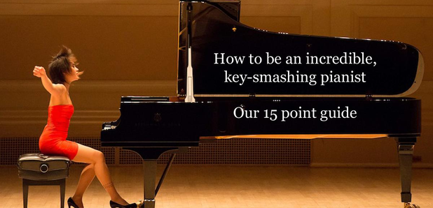 15 steps to being an AMAZING pianist