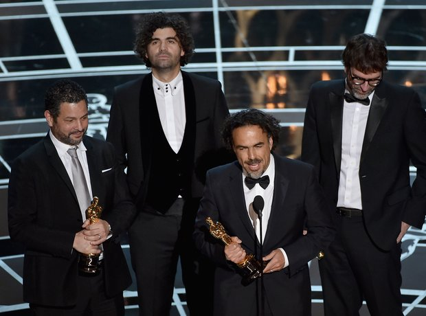 Best Original Screenplay for 'Birdman' at the Osca