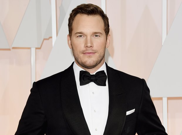 Chris Pratt at the Oscars 2015