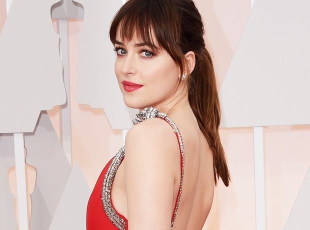 Dakota Johnson at the Oscars 2015