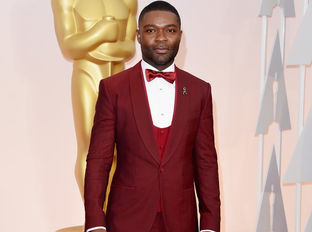David Oyelowo at the Oscars 2015