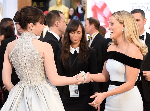 Felicity Jones and Reese Witherspoon