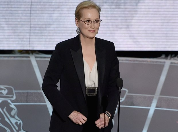 Meryl Streep at the Oscars 2015