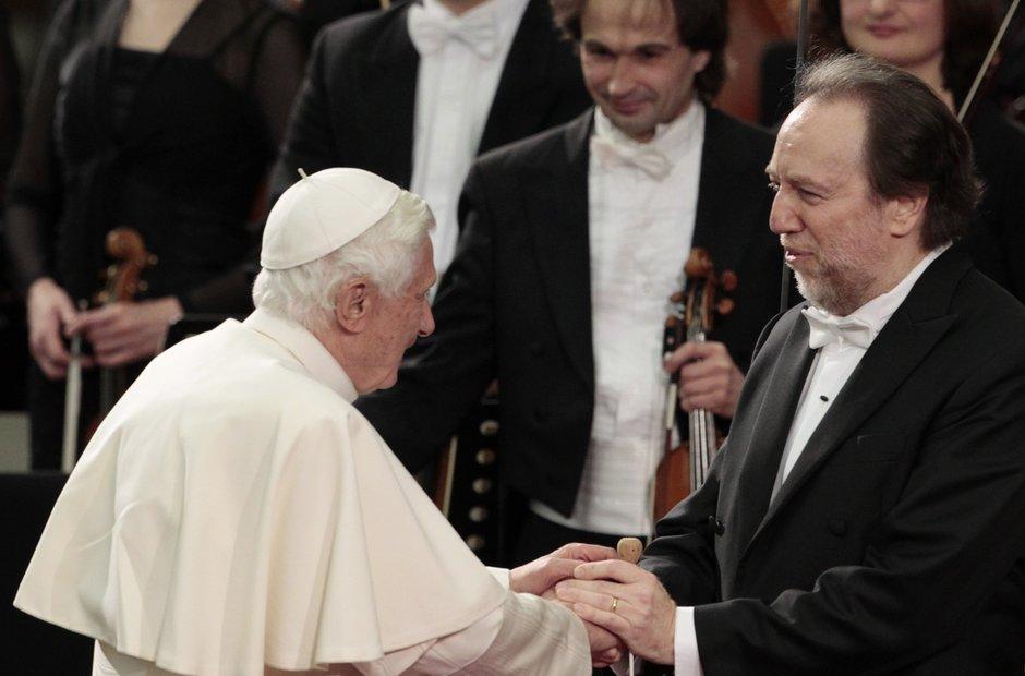 Leipzig Gewandhaus Chailly Pope Benedict XVI